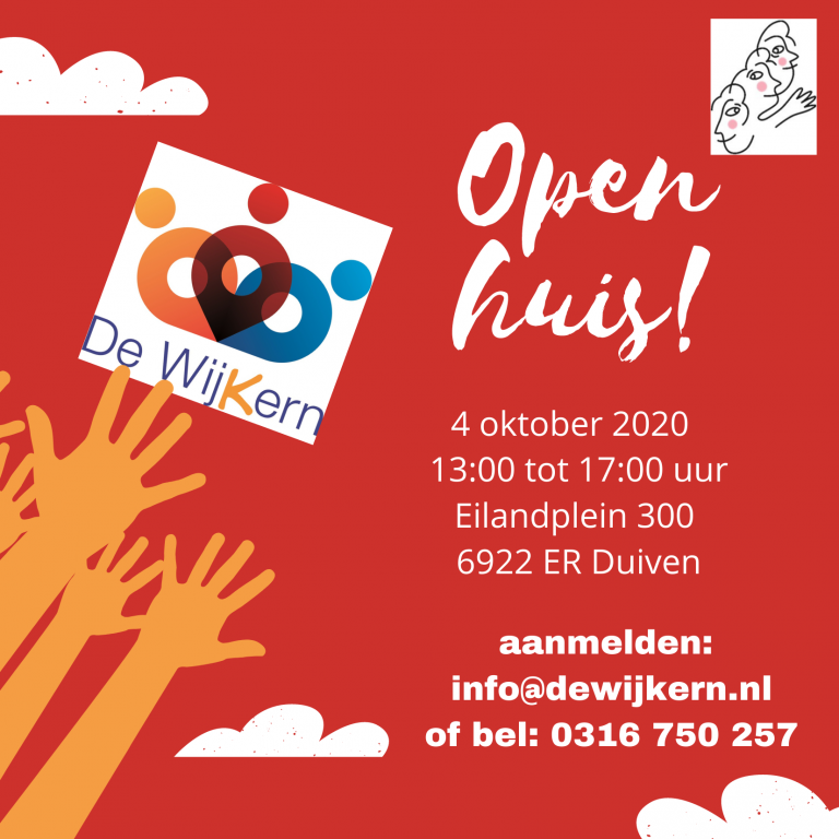 Open Huis en Week van de Ontmoeting in de WijKern